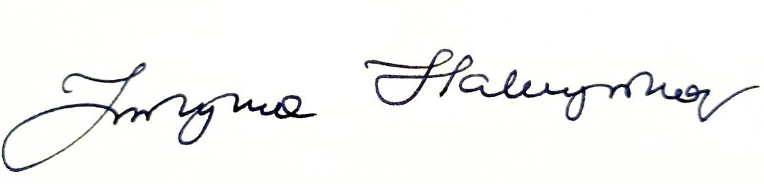 Justyna Habczyńska - radca prawny - podpis